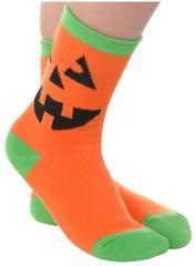 Child's Pumpkin Crew Socks