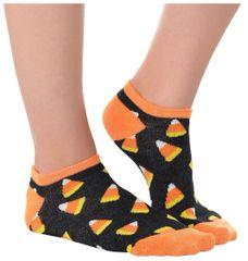 Candy Corn Ankle Socks