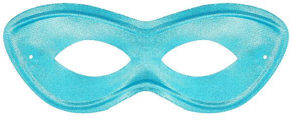 Turquoise Super Hero Mask