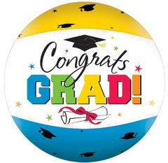 Multi Color Grad Autograph Beach Ball