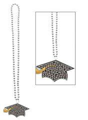 Grad Cap Bling Necklace