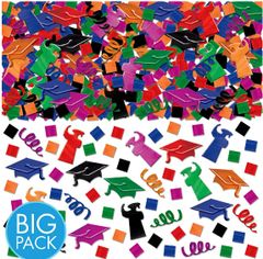 Grad Super Mega Value Multicolor Metallic Confetti