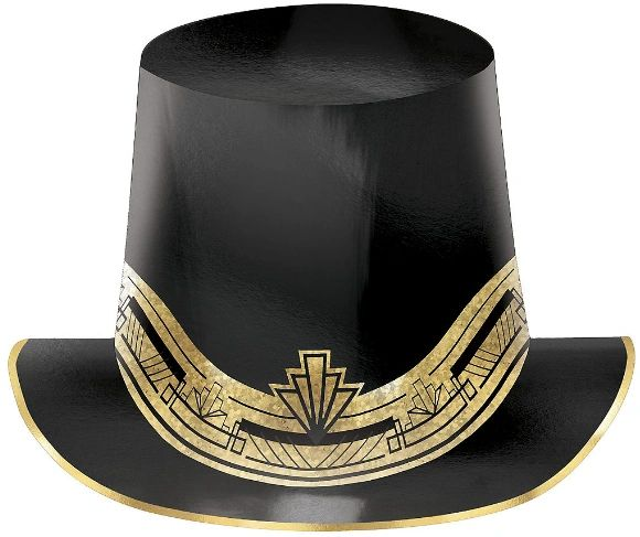 Glitz & Glam Prismatic Paper Top Hat