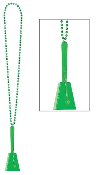 Green Clacker Necklace