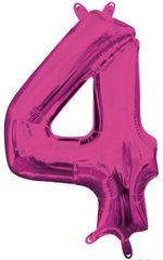 "13"" Pink Number #4"