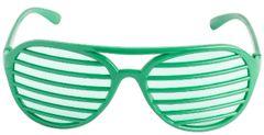 Green Slot Glasses