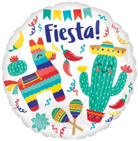 Fiesta Party Balloon 18""