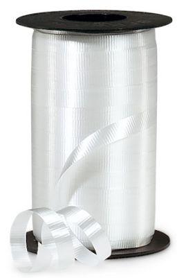 "White Curling Ribbon, 3/8""x 250 yards"