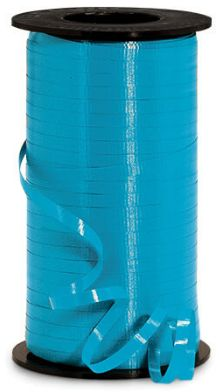 "Crimped Caribbean Blue Curling Ribbon, 3/16""x 500 yards"