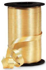 "Gold Curling Ribbon, 3/8""x 250 yards"