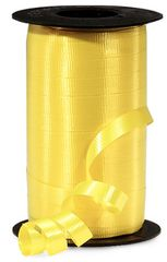 "Sunshine Yellow Curling Ribbon, 3/8""x 250 yards"