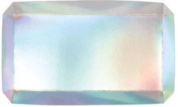 Shimmering Party Paper Trays, 2ct