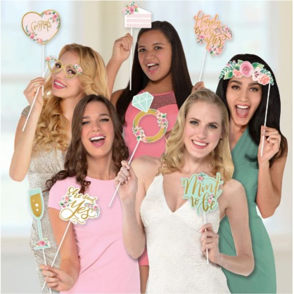 Mint To Be Photo Props, 13ct