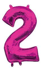 "13"" Pink Number #2"