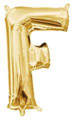 """13"""" Gold Letter F"""