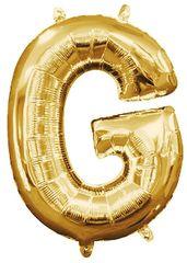 "13"" Gold Letter G"