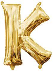 "13"" Gold Letter K"