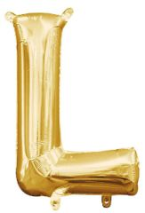 """13"""" Gold Letter L"""