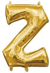"""13"""" Gold Letter Z"""