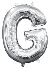 """13"""" Silver Letter G"""
