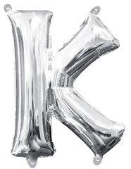 "13"" Silver Letter K"