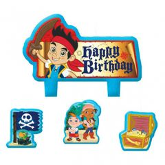 ©Disney Jake and the Never Land Pirates Birthday Candle Set