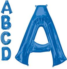 """13"""" Blue Letter A"""