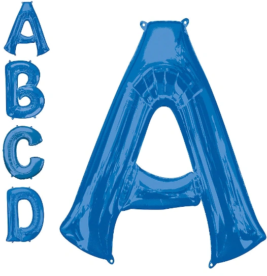 Letters A-Z Blue (Does Not Float)