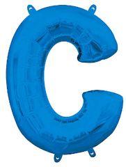 "13"" Blue Letter C"
