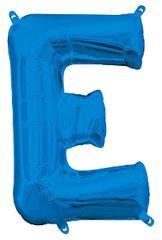"13"" Blue Letter E"