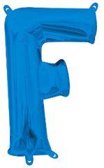 """13"""" Blue Letter F"""