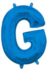 """13"""" Blue Letter G"""