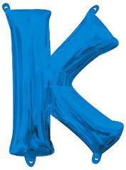 "13"" Blue Letter K"