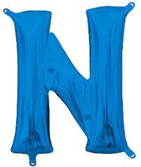 """13"""" Blue Letter N"""
