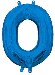 "13"" Blue Letter O"