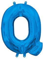 """13"""" Blue Letter Q"""