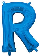 "13"" Blue Letter R"