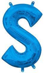 "13"" Blue Letter S"