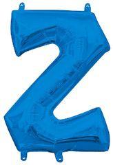 "13"" Blue Letter Z"