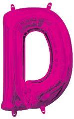 """13"""" Pink Letter D"""
