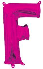 "13"" Pink Letter F"