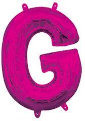 """13"""" Pink Letter G"""