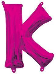"""13"""" Pink Letter K"""