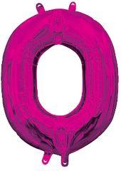 """13"""" Pink Letter O"""