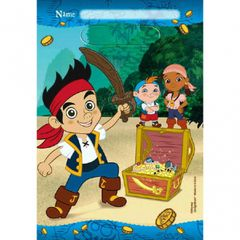 ©Disney Jake and the Never Land Pirates Folded Loot Bag