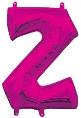 """13"""" Pink Letter Z"""