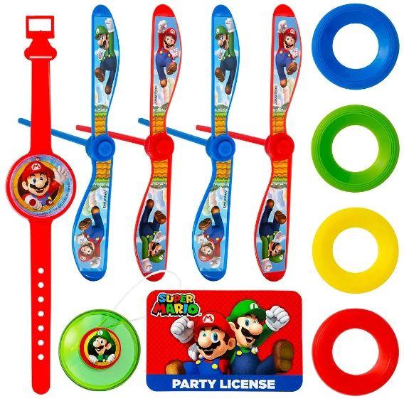 Super Mario Brothers™ Super Mega Mix Value Pack Favors, 100pc