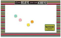 Grad If You BELIEVE you can ACHIEVE Magnetic Dry-Erase Board