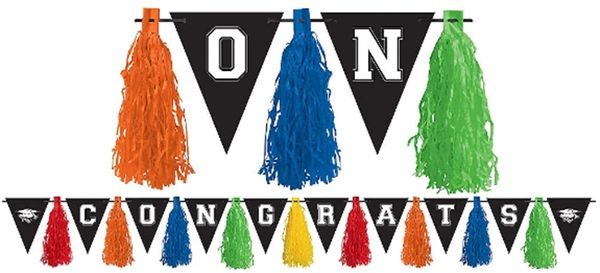 Multi Color Graduation Tassel Garland