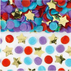 Confetti Tube - Multi, 4ct